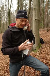 Telefonat mit Tauchbasis Ost 1